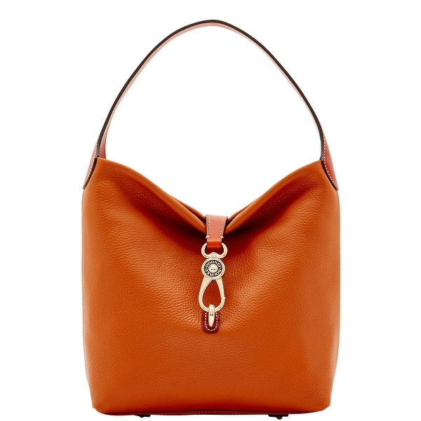 Dooney & Bourke Pebble Grain Small Logo Lock Shoulder Bag (Introduced by Dooney & Bourke at $248 in May 2017)