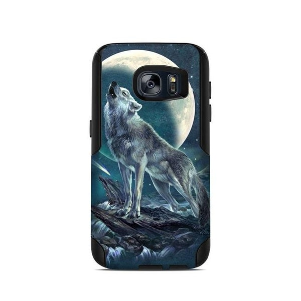 573111a344d Shop OtterBox Commuter Galaxy S7 Case Skin - Howling Moon Soloist - Free  Shipping On Orders Over  45 - Overstock - 24449168