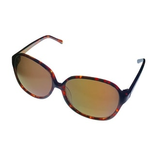 William Rast Sunglass Modified Round Fashion Plastic WRS 2026 Tortoise, Gradient - Medium
