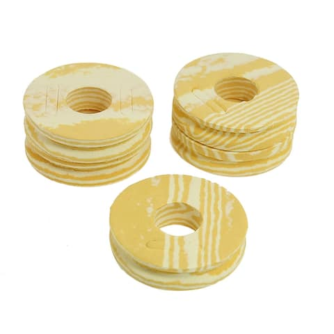 Unique Bargains Unique Bargains 5 Pcs Beige Foam Reel Spool Winder for Fishing Line