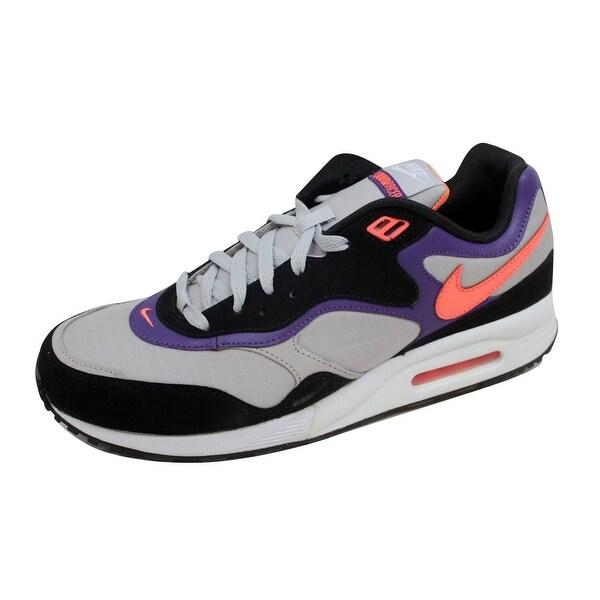 Nike Men's Air Max Liquid Racer Tech Grey/Bright Mandarin-Club Purple 407613-005