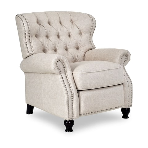 Opulence Home Cambridge Brussels Linen Recliner