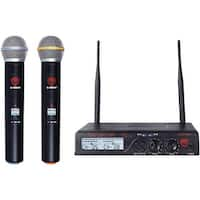 U-2100 HT BAND A-B Dual UHF Wireless Handheld Microphone System&#44