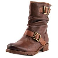Sofft Saxton Women  Round Toe Leather Brown Ankle Boot