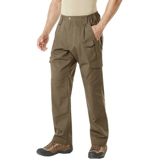 CQR TLP-105 Lightweight Ripstop EDC Tactical Assault Cargo Pants - Coyote Brown
