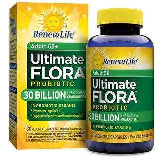 Renew Life Ultimate Flora Adult 50+ 30 Billion 30 Caps