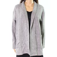 Eileen Fisher Beige Womens Size Small S Shawl-Collar Blazer Jacket