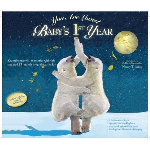 Calendar Ink, 2019 You Are Loved Babys First Year Tillman Art Wall Calend