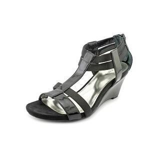 Alfani Maribeth Open Toe Synthetic Wedge Sandal