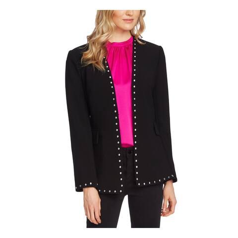 VINCE CAMUTO Womens Black Blazer Jacket Size 2