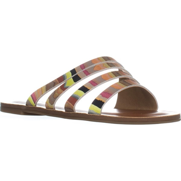 Lucky Brand Anika Flat Slip-On Sandals, Multi