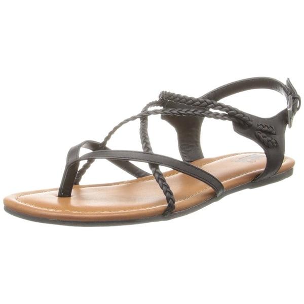 Shop Mia Womens Adrianna Open Toe Casual Ankle Strap