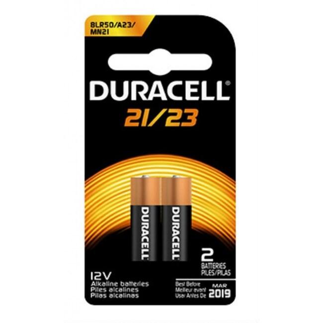 Duracell 00406 Alkaline Batteries, 12 Volts, 2-Pack