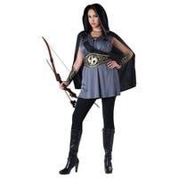 Women's Plus Size Huntress Costume