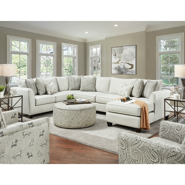 Homecoming Stone Stationary Sectional with Armless Sleeper. Opens flyout.