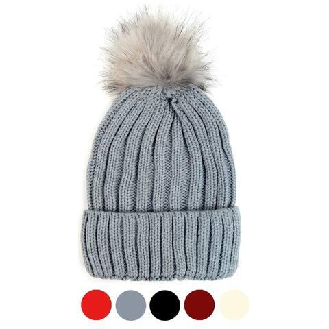 Women's Acrylic Knit Winter Hat