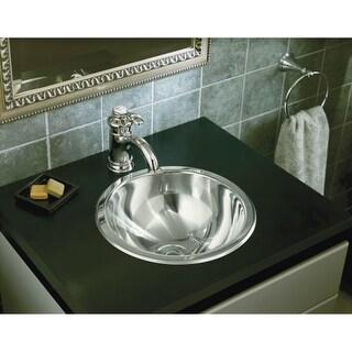 """Sterling 131-0 13-5/8"""" 20 Gauge Stainless Steel Bathroom Sink"""