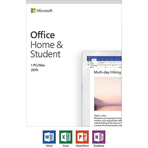 Microsoft 79G-05029 Office Home Student -2019 with Latest Office Applcations