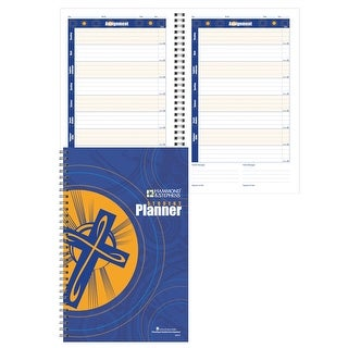 Hammond & Stephens Daily Student Planner with Religion and Bible Tabs, 7 x 11 Inches, 192 Pages