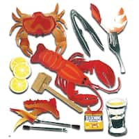 Jolee's Boutique Dimensional Stickers-Crustacean