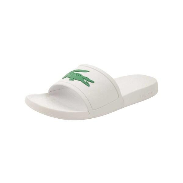 541bcd473 Shop Lacoste Men s Fraisier 318 1 P Slide Sandal - Free Shipping On ...