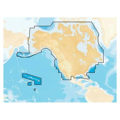 Navionics MSD and NAV plus NI (Raymarine) Flexible Coverage - Blue