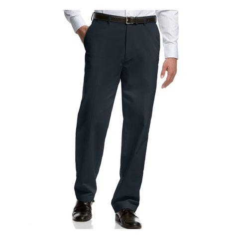 Haggar Mens Dress Pants Classic Fit Comfort Waist