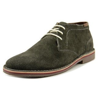 Unlisted Kenneth Cole Real Deal Men Round Toe Suede Gray Oxford