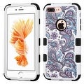 Insten European Flowers Tuff Hard PC/ Silicone Dual Layer Hybrid Case Cover For Apple iPhone 7 Plus - Thumbnail 3