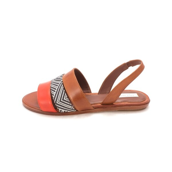 Cole Haan Womens Kimberlysam Canvas Open Toe Casual Slingback Sandals - 6