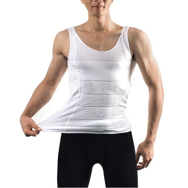 871e8f2ac Men  x27 s Body Shaper For Men Slimming Shirt Tummy Waist Vest lose Weight