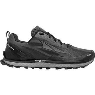 Altra Footwear Men's Superior 3.5 Trail Running Shoe Black/Red