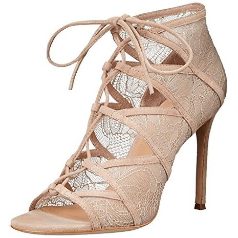 Pour La Victoire Womens Eleryls Open Toe Formal Strappy Sandals