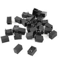 Unique Bargains 3.5mmx1.3mm 3 Pin DC Socket Jack PCB Mounting Charging Port Connector 30 Pcs