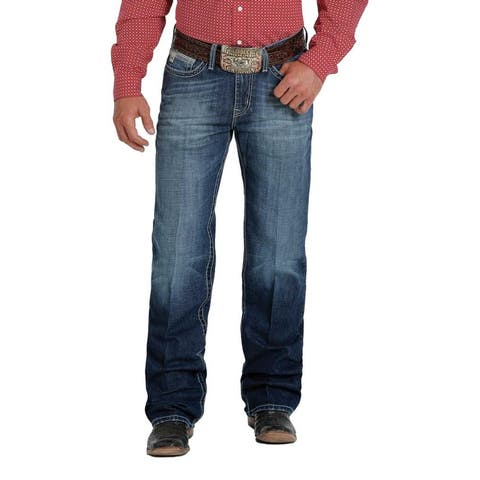 Cinch Western Denim Jeans Mens Grant Bootcut Relaxed Fit