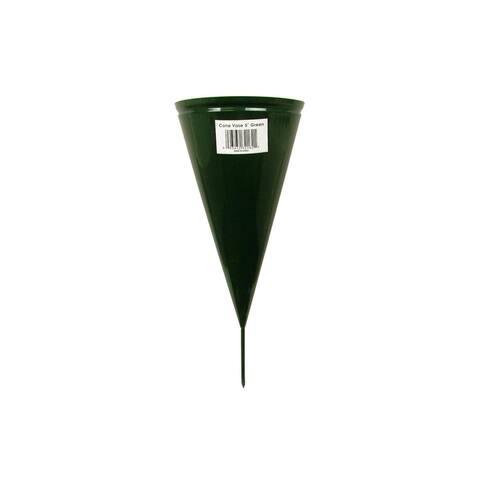 Panacea Vase Metal Cone 5in Fixed Spike