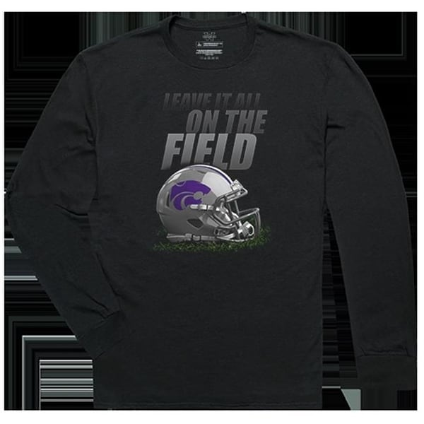 1b5470132046 Shop Apparel Kansas State University Gridiron Long Sleeve T-Shirts ...
