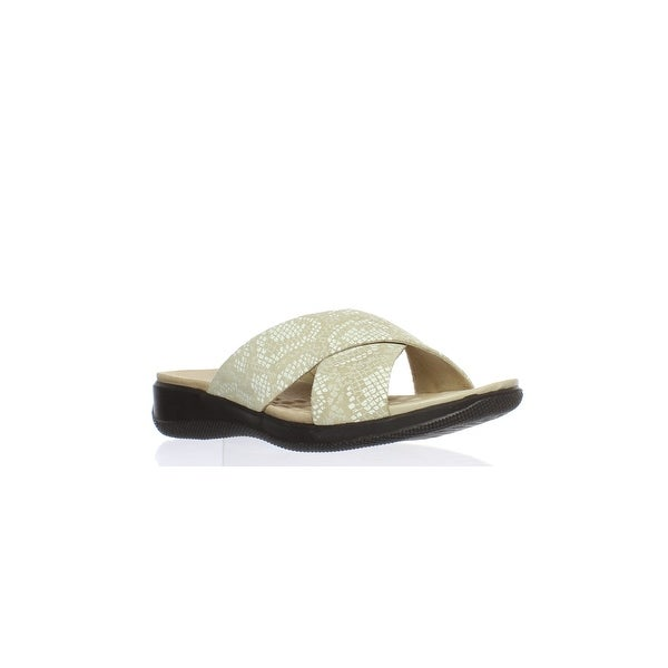 404e1536e0f8 Shop Softwalk Womens Tillman Sand Slides Size 5.5 - On Sale - Free ...
