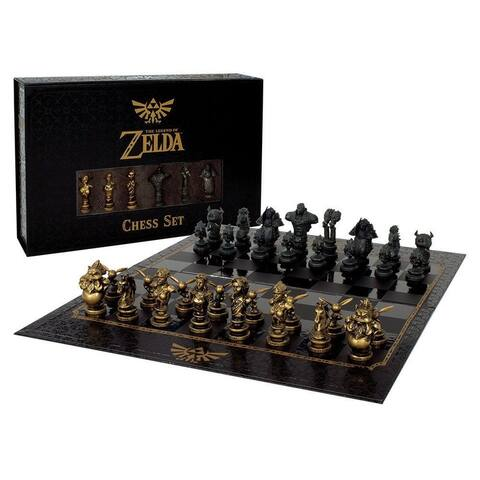 Chess: The Legend Of Zelda Collector's Edition Board Game - Multi