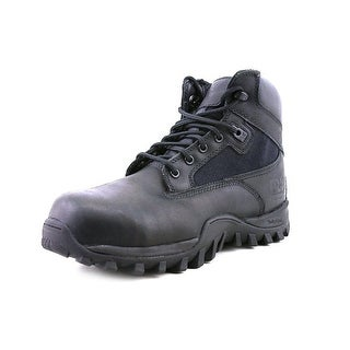 """Timberland Pro McClellan 6"""" Youth W Round Toe Leather Black Work Boot"""