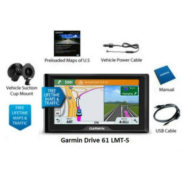 Shop Garmin Drive 61LMT-S GPS Vehicle Navigation System w ... on