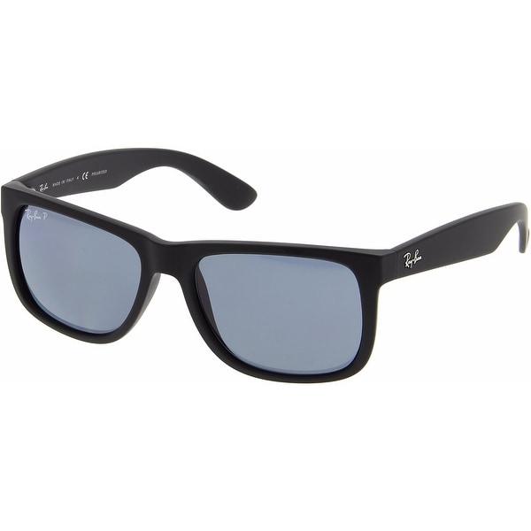 Shop Ray-Ban RB4165 55mm Justin New Wayfarer Sunglasses (Black ...
