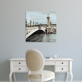 Easy Art Prints Alan Blaustein's 'Paris #12' Premium Canvas Art