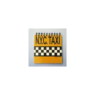 "Club Pack of 12 Checkered Yellow Cab ""N.Y.C. Taxi"" Magnetic Memo Note Pads"