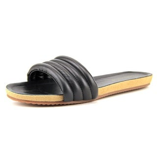 Splendid Tysan Open Toe Leather Slides Sandal