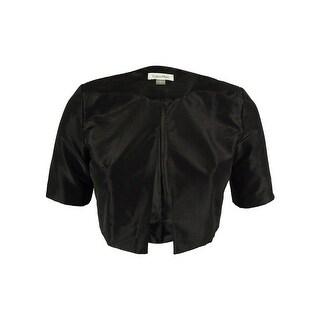 Calvin Klein Women's Short Sleeve Open Front Jacket