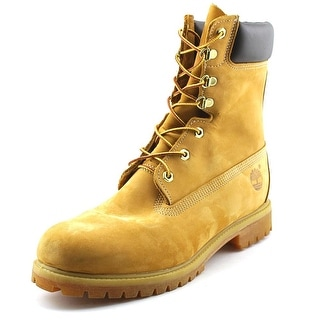 """Timberland Classic 8"""" Men  Round Toe Suede Tan Work Boot"""
