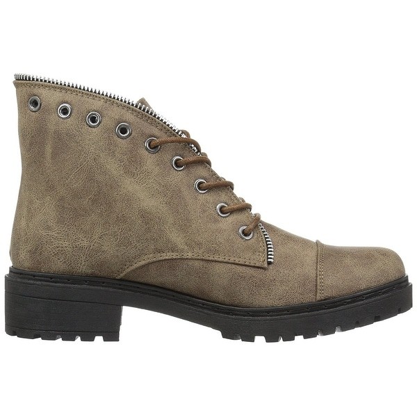 Qupid Womens POSTAL-01A Ankle Boot