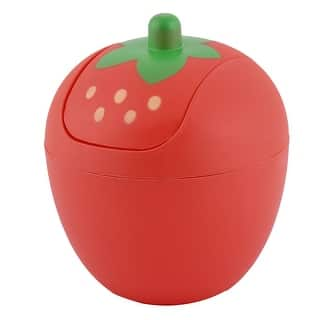 Kitchen Plastic Strawberry Shaped Trash Garbage Seedcase Holder Bin Can Red|https://ak1.ostkcdn.com/images/products/is/images/direct/e7419493a54c5a5839b89507bd5fe9f86e6e8cf0/Kitchen-Plastic-Strawberry-Shaped-Trash-Garbage-Seedcase-Holder-Bin-Can-Red.jpg?impolicy=medium