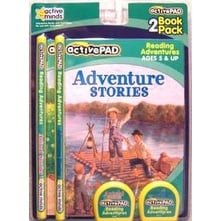 Active Pad Adventures and Animals Interactive Books Set